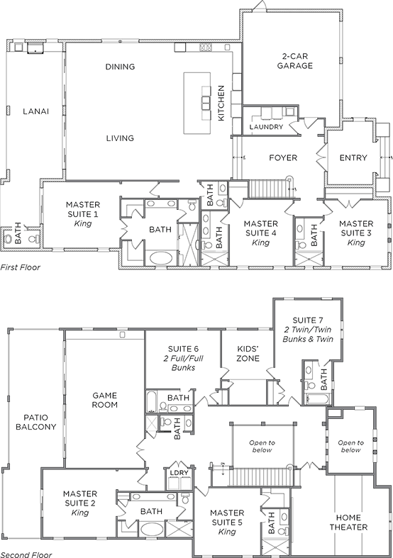 Floor Plan for Let it Snow